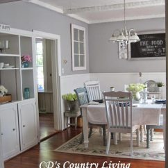 Living Room Country Decor Red Paint 75 Rustic Decorating Ideas For Every And This Dining S Color Palette Consists Of Whites Pops Soft Blues A Cohesive Look