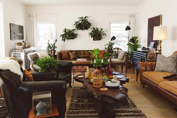 decor pictures of living rooms room bench designs 100 decoration photo gallery shutterfly bring the outdoors in with large plants live edge furniture faux fur blankets and other nature inspired