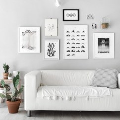 White Wall Decorations Living Room Design Ideas For Small Rooms 85 Creative Gallery And Photos 2019 Shutterfly A Modern Look Go Black With Your To Add Little Color Place Plant Next Images