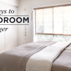 Decorating Ideas To Make A Small Living Room Look Bigger Corner Wall Mount Tv For 25 Ways Bedroom Shutterfly Header 1
