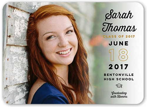 High School Senior Invitations