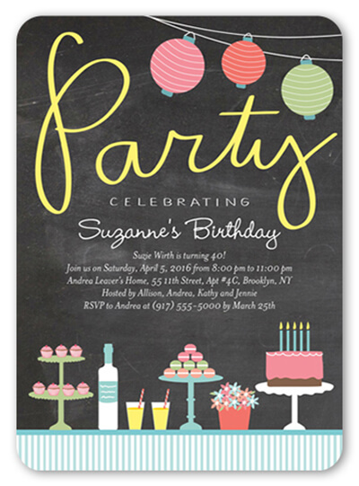 creative 17th birthday party