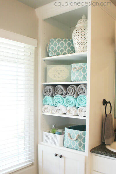 80 ways to decorate a small bathroom | shutterfly