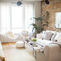 How To Decorate Living Room Wall Blue Brown Curtains 80 Ways A Small Shutterfly Decoration Idea By Danielle Moss For The Everygirl