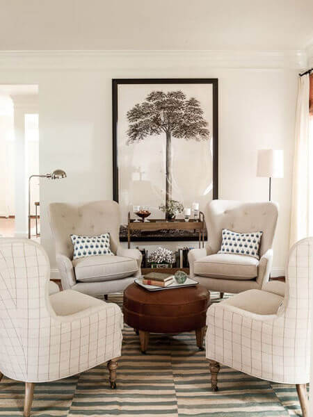 ideas for living room decor cute chairs 80 ways to decorate a small shutterfly decoration idea by lauren liess helen norman