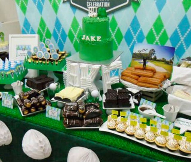 Baby Boy Baby Shower Themes Golfing Idea