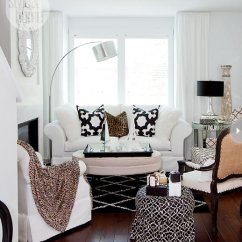 Black And White Themed Living Room Ideas With Brown Furniture Decorating 75 Delightful Photos Shutterfly Don T Be Afraid To Use Different Patterns In Your Scheme As This Shows A Mixture Of Animal Prints Classic Can Work