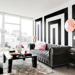 Living Room Ideas Black Furniture Interior Design 75 Delightful White Photos Shutterfly We Adore All Of The Unique Details In This From And Patterned Walls To Two Faced Sculpture On Coffee Table