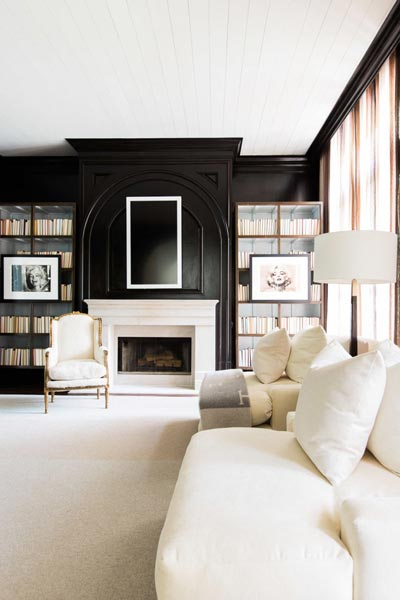 design ideas for black and white living room sofa 75 delightful photos shutterfly if your favorite thing is curling up with a good book you ll love this that features cozy fireplace tall bookshelves