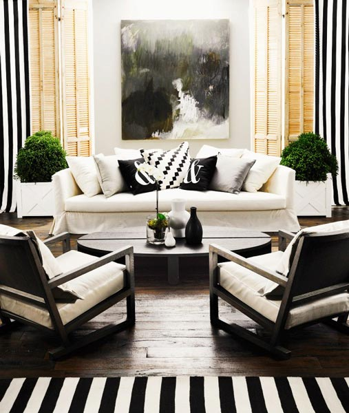 design ideas for black and white living room wall colour small 75 delightful photos shutterfly to add a pop of color try placing houseplants on either side your couch