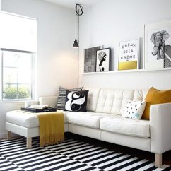 Black And White Living Rooms Bench Room Seating 75 Delightful Photos Shutterfly If You Want To Add Some Brightness A Couch Try Using Few Yellow Accessories Like Throw Blanket Or Pillow