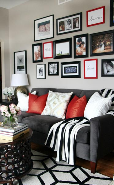 black and red living room decorating ideas how do i decorate a rectangular 75 delightful white photos shutterfly