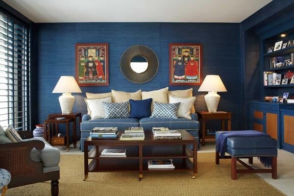 blue living room walls with brown furniture images of grey 2 75 inspiring photos shutterfly choose a secondary color to go your main choice this chooses shades help support the heavy navy