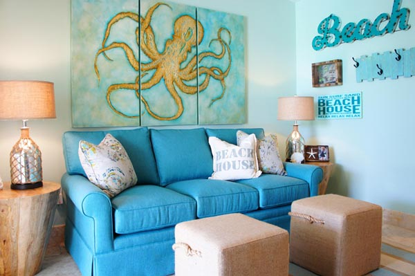 house of turquoise living room modern sofa set designs 75 inspiring blue photos shutterfly a plays on the water related themes in this beach