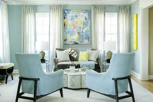 small living room ideas blue diy table centerpiece 75 inspiring photos shutterfly baby walls match the pair of chairs to give this an airy feeling