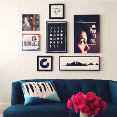 Blue Furniture Living Room Small Open Plan Decorating Ideas 75 Inspiring Photos Shutterfly