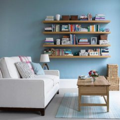Blue Walls Living Room With Dark Brown Leather Sofa 75 Inspiring Photos Shutterfly