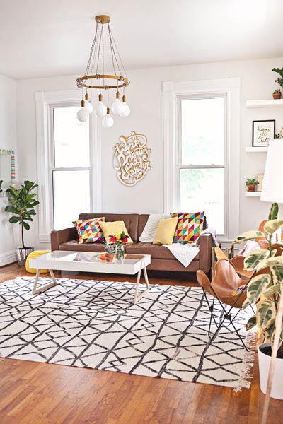 living room decorative pillows lighting for a 75 enchanting brown rooms shutterfly photo by emily clark