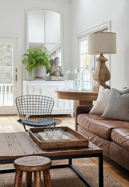 wood living room furniture lighting fixtures for ceiling 75 enchanting brown rooms shutterfly this expertly uses different types of from a smooth lamp to coarser coffee table