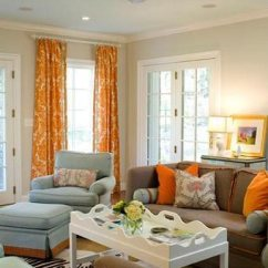 Orange Living Room Designs Design Ideas For Small Apartments 75 Enchanting Brown Rooms Shutterfly Is A Great Accent Color It Pairs Well With Furniture And Adds Brightness To Dark