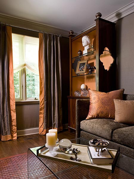 brown and grey living room ideas french country colors for 75 enchanting rooms shutterfly