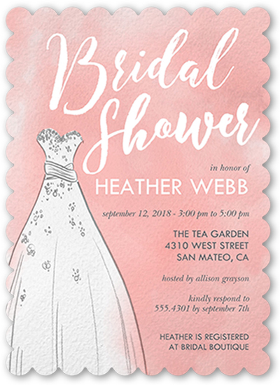 Bridal Shower Invite Etiquette To Create A Pretty Invitation Design With Appearance 1