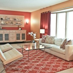 Living Room Decor Red Small Side Chairs For 75 Exciting Photos Shutterfly The In This Demonstrates How A Patterned Carpet Can Add Vibrancy When Added To Similar Colored Drapes