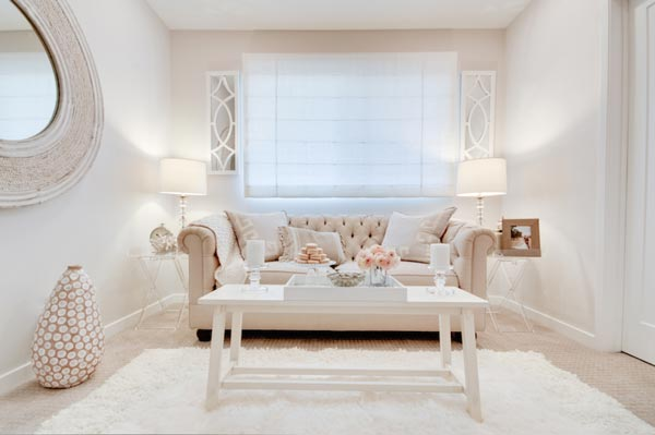 all white living room ideas mobile home paint 75 refreshing photos shutterfly light pinks are perfect to accent a the subtle hue of this couch gives space balance and beauty