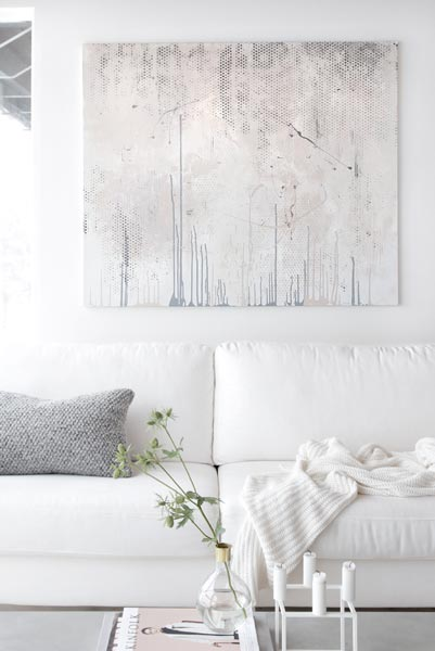 modern white living rooms room aquarium 75 refreshing photos shutterfly choose one large dramatic and textured piece of artwork to perfectly dress a no need for anything further
