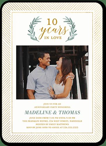Wedding Anniversary Party Seating Venue Decor 10th Ideas