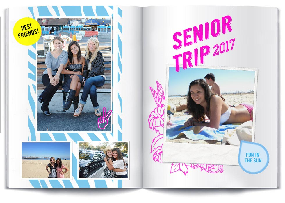 Page Ideas High Yearbook School Fun