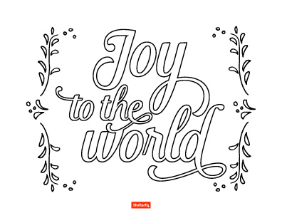 Christmas Around The World Coloring Pageschristmas Around