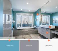 Relaxing Bathroom Colors