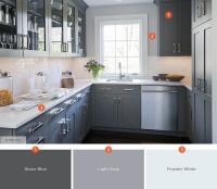 Gray Kitchen Color Schemes. 20 gorgeous kitchen cabinet ...