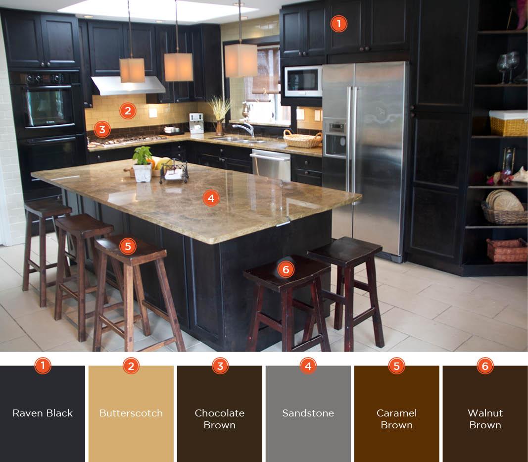 20 enticing kitchen color