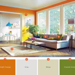 Color Scheme Ideas Living Room Curtains Argos 20 Inviting Schemes And Inspiration For To Create A Seamless Transition From The Kitchen Harmonize Tones Of Colors Although Both Rooms Have Different