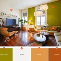 Living Room Wall Colour Designs Kitchen Pictures 20 Inviting Color Schemes Ideas And Inspiration For Statement Walls Allow You To Break Up A Large Can Show Off High Ceilings Without Appearing Too Overwhelming Choose Your Favorite Paint
