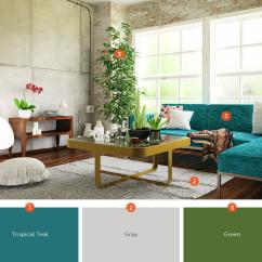 Teal Decorating Ideas For Living Room Diy Sofa Small 20 Inviting Color Schemes And Inspiration Industrial Lofts Are On Trend But The High Ceilings Exposed Walls Leave Some People Uncertain How To Approach Design Transform Unfinished