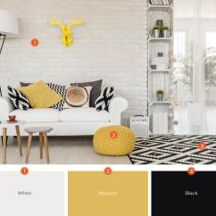 Color Scheme Ideas Living Room Grey Wood Tile Floor 20 Inviting Schemes And Inspiration For Black White Will Unify Any Modern Space While Throwing In Pops Of Add Your Personality If You Have A Smaller