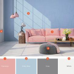 Pictures Of Colors For Living Room L Shaped Furniture Placement 20 Inviting Color Schemes Ideas And Inspiration Choose Light Pastel To Create A Soft Sultry Produce Simple Space Like This Don T Overcomplicate With Too Many