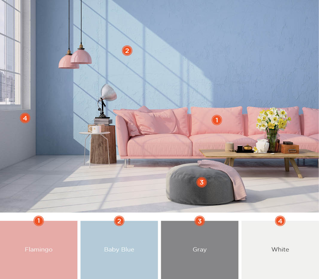 color scheme ideas living room apartment on a budget 20 inviting schemes and inspiration for choose light pastel colors to create soft sultry produce simple space like this don t overcomplicate with too many