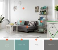 20 Inviting Living Room Color Schemes | Ideas and ...