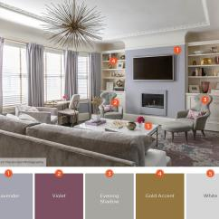 Living Room Colors Rustic Furniture 20 Inviting Color Schemes Ideas And Inspiration For Lavender Charm