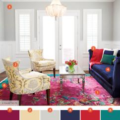 Navy Blue And Red Living Room Ideas Modern Curtains 20 Inviting Color Schemes Inspiration For Kaleidoscopic Masterpiece