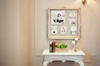 How to Make a DIY Photo Collage w/ a Rustic Window Frame ...