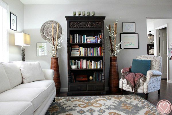 beautiful formal living rooms colour ideas room walls 50 for 2019 shutterfly an antique bookshelf is a piece of decor and it can be decorated with lovely vintage pieces