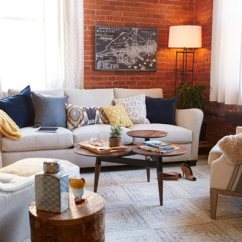 Interior Design Ideas For Living Rooms Modern Reclaimed Wood Beams In Room 50 2019 Shutterfly An Exposed Brick Wall Is The Cornerstone Behind Every Industrial