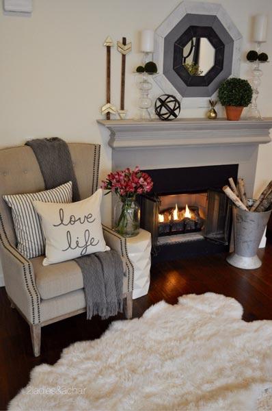 50 rustic living room