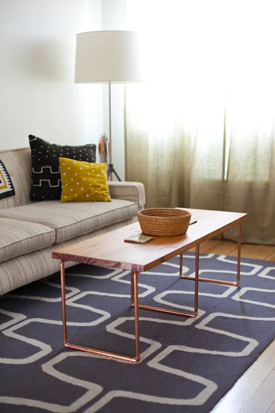simple living room decorating photos best colors for india 50 ideas 2019 shutterfly if you re looking unique your coffee table try using a with shining copper legs