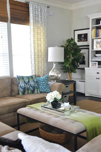 simple home decor ideas living room rustic contemporary designs 50 for 2019 shutterfly make your feel like spring by using a green and blue color scheme decorating with fresh flowers
